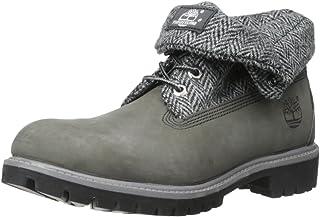 TimberlandRoll Top Fabric - Tissu - Partie supérieure à enrouler Homme , gris (Grey Nubuck Harris Tweed), 39.5 EU