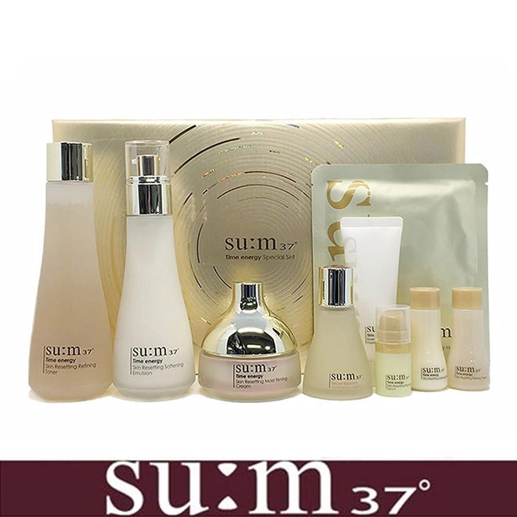 いつでも急いで狂信者[su:m37/スム37°] SUM37 Time Energy 3pcs Special Skincare Set / タイムエネルギーの3種のスペシャルセット+[Sample Gift](海外直送品)