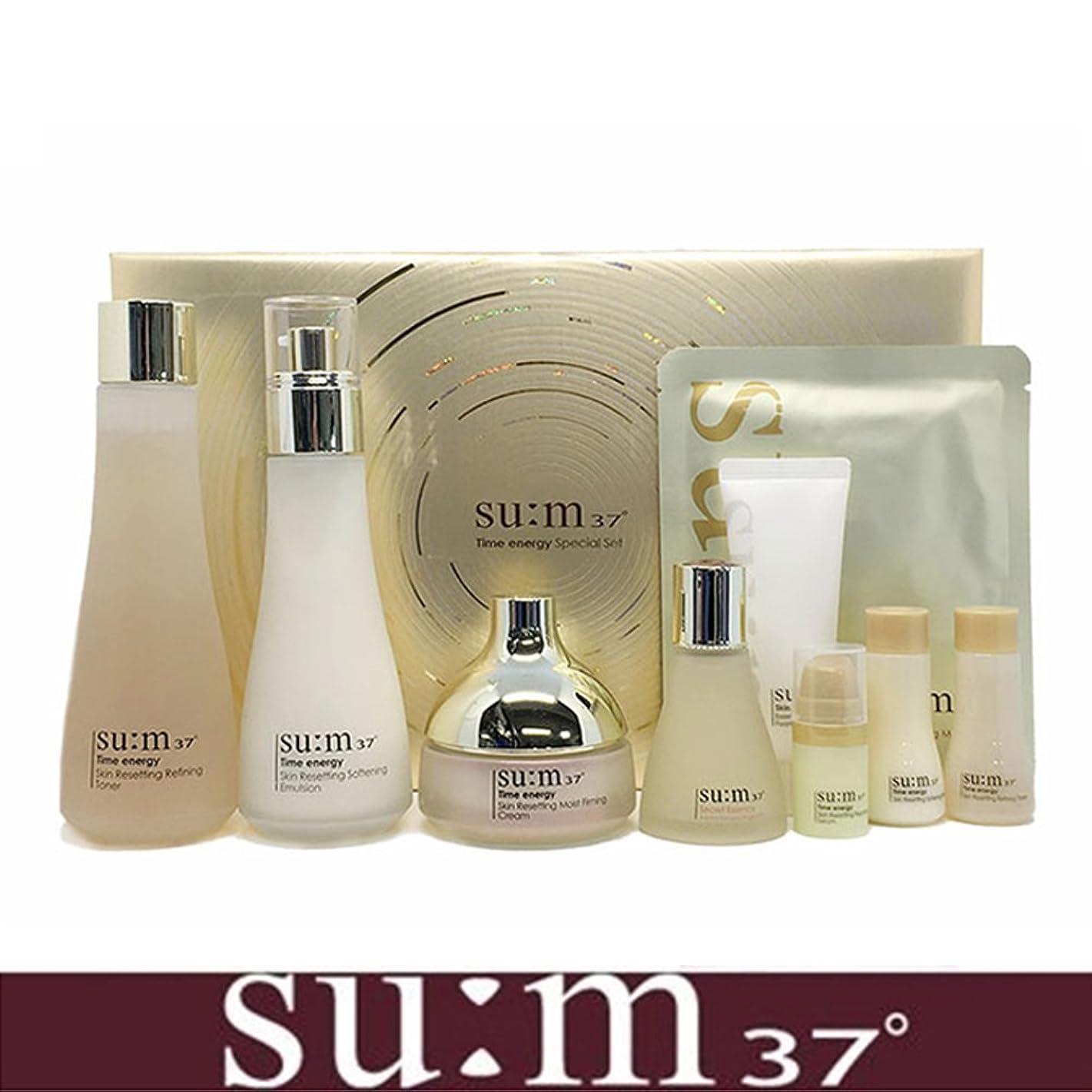 パンチ憂鬱なドラフト[su:m37/スム37°] SUM37 Time Energy 3pcs Special Skincare Set / タイムエネルギーの3種のスペシャルセット+[Sample Gift](海外直送品)