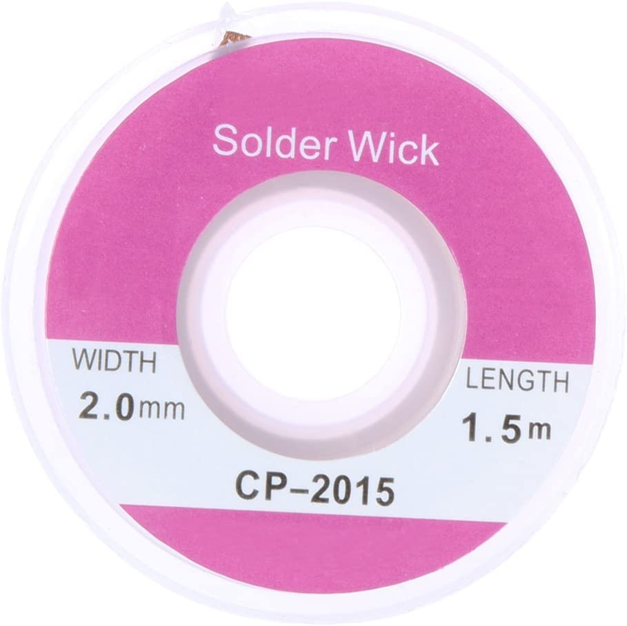 OFFicial Tool Parts 1pc 1.5m 5ft Copper Wick Purchase Remover B Solder Desoldering