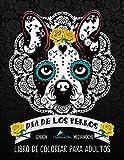 Día de los perros: Libro para colorear de adultos