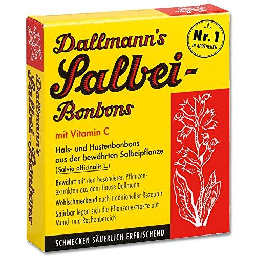 DALLMANN'S Salbeibonbons m.Vit.C., 20 St