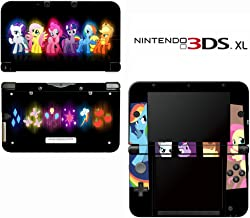 My Little Pony Friendship is Magic Decorative Video Game Decal Cover Skin Protector for Nintendo 3DS XL