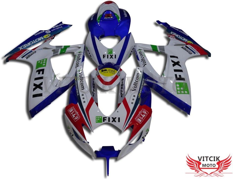 限定Special Price VITCIK Fairing Kits Fit for 休日 GSX-R750 GSXR GSX-R600 2007 2006 K6