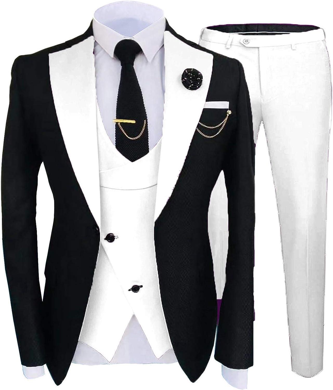 Buy JEXJ Formal Suits for Men Wedding Slim Fit 20 Piece Dress ...