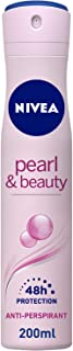 Sponsored Ad – NIVEA Pearl & Beauty, Antiperspirant for Women, Pearl Extracts, Spray 200ml