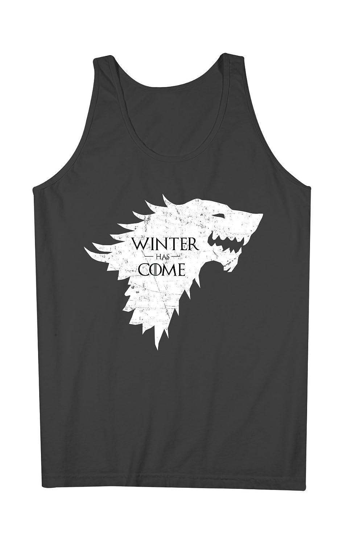 Winter Has Come Popular TV 引用する 男性用 Tank Top Sleeveless Shirt