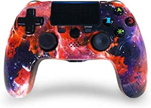 ISHAKO PS4 Controller Wireless High Performance Double Shock Gamepad for Playstation 4/Pro/PC with Audio Function and Led ...