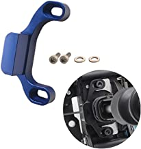 DEWHEL Manual Performance Shifter Stop Gap Removal Shift Stop Removes Loose Sloppy Shift Gate Feel CNC Aluminum for 2015+ WRX/10-14 Legacy/Outback/14+ Forester (Blue)
