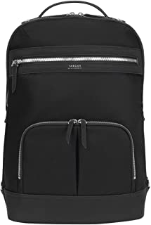 Targus Newport Backpack Trendy for Travel and Commuter fit up to 15-Inches Laptop, Black/Silver (TBB599GL)