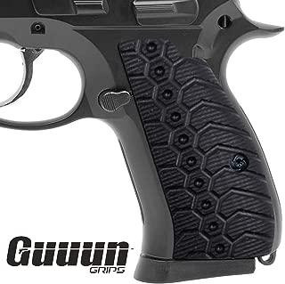 Guuun CZ 75 Compact Grips OPS Mechanical Texture CZ P-01 G10 Grips
