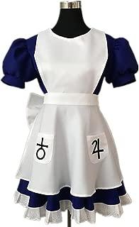Hot Anime Alice Madness Returns Cosplay Costume Halloween Maid Dress