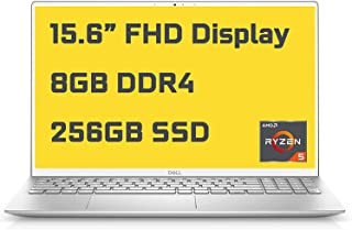 2021 Dell Inspiron 15 5000 5505 プレミアムビジネスノートパソコン I 15.6インチ FHD I AMD 6-Core Ryzen 5 4500U(>i7-10710U) I 8GB DDR4 256GB SSD...
