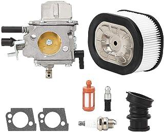 Kit de carburador Herramienta de jardín, Motosierra Kit de accesorios de carburador de aluminio fundido a presión, Reemplazo para piezas de motosierra Kit de carburador Stihl MS660