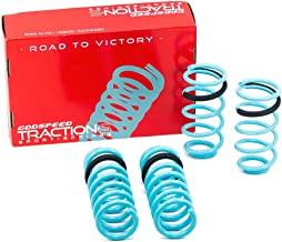 Godspeed LS-TS-FD-0006-B Traction-S Performance Lowering Springs, Improve Overall Handling And Steering Response