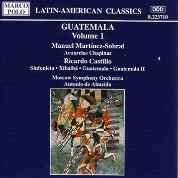 MARTINEZ-SOBRAL: Acuarelas Chapinas / CASTILLO: Guatemala I and II