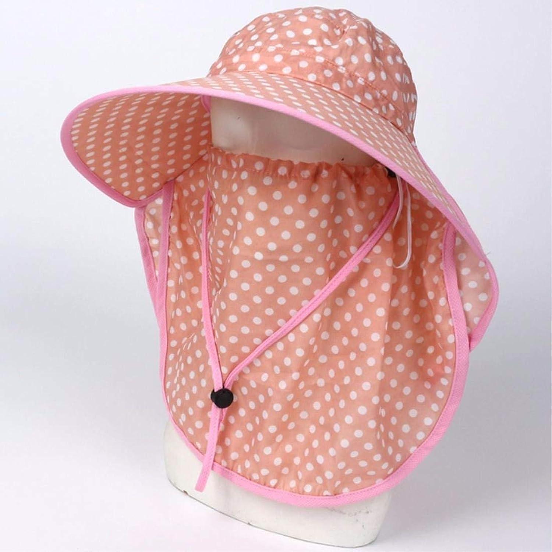 Beach Hat Women's Hats Summer Outdoor AntiUltrapurple Bike Cap Visor Cover Face Neck Guard Cap Pink C Summer Sun Hat