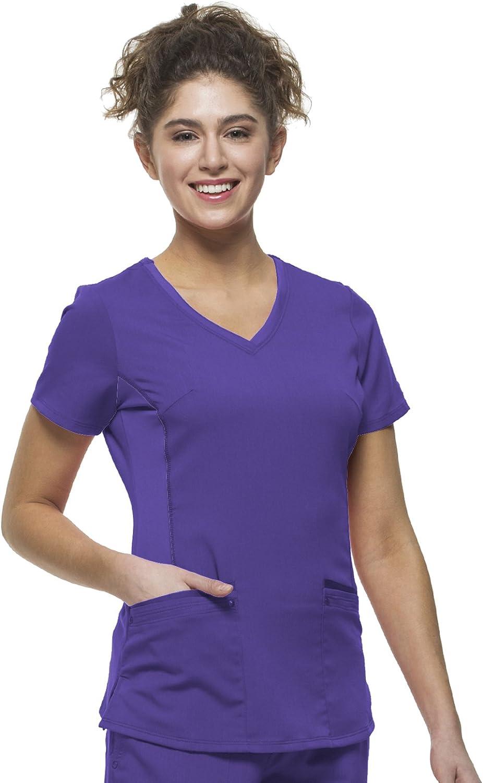 Healing Hands Purple Label Yoga Juliet 2245 VNeck Scrub Top