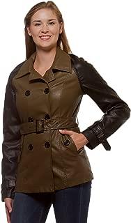 Thread & Supply 女士双色双排扣季节性外套