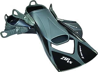 Aqua Sphere Zip VX - Aletas de Entrenamiento para natación, Color Azul, Talla Large/Size 10-13