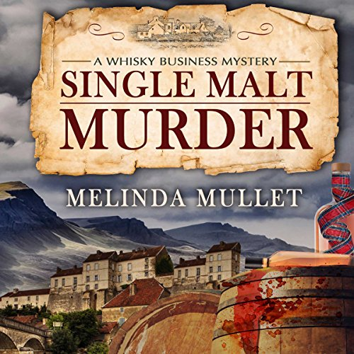 Single Malt Murder audiobook cover art