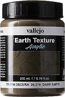 Vallejo Dark Earth Gel, 200ml
