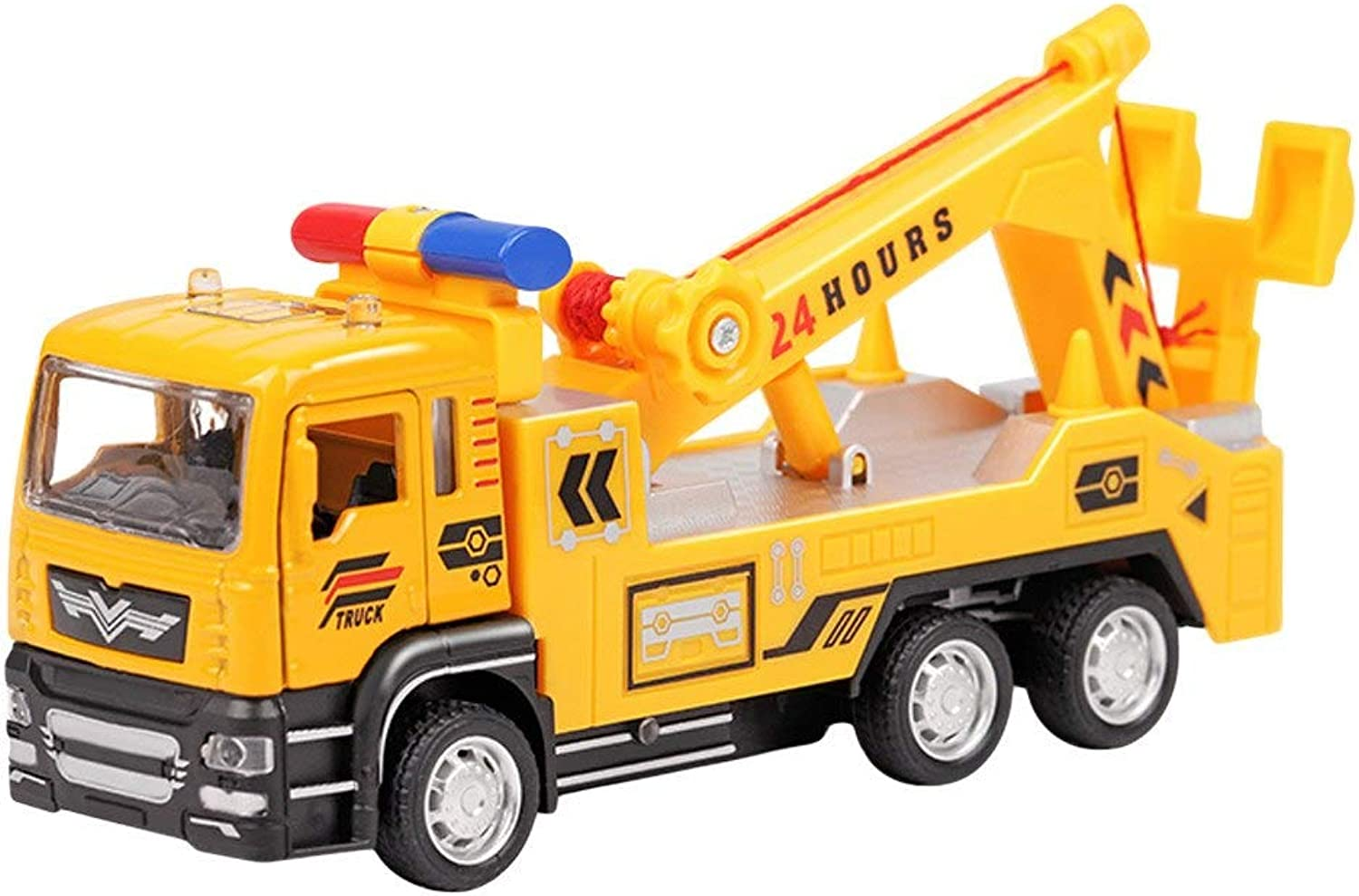 Generic 1 55 Pull Back Construction Vehicle Light & Music Alloy Models Toy Car Kids Vehicle Plastic Gift Toy 6 Years Vehicle Education C