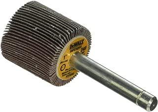 DEWALT DAFK1M0810 6-1//2-Inch by 1-Inch by 1-Inch HP 80G Flap Wheel