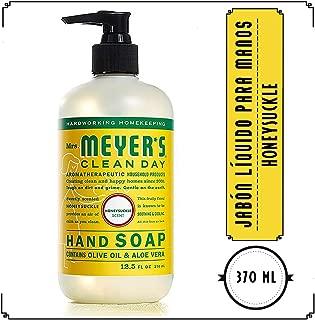 Mrs. Meyer's Clean Day Jabón Líquido para Manos, Honeysuckle, 370 ml