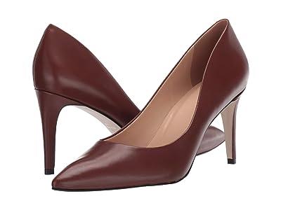 Massimo Matteo Raven Pump (Cacau Leather) High Heels