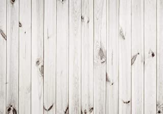 Allenjoy 7X5ft White Wood Pattern Photography Backdrop Wood Floor Wall Background Portrait Wooden Photo Studio Props for Photographer