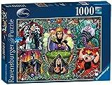 Ravensburger, Puzzle 1000 pezzi, Disney Collection, Puzzle per Adulti, Puzzle personaggi Disney, Puzzle a partire dai 12 anni, Le Cattive Disney