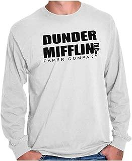 Brisco Brands Dunder Paper Company Mifflin Office TV Show Long Sleeve T Shirt