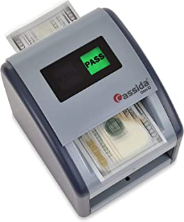 Cassida Omni-ID 2-in-1 Currency Counterfeit Detector with UV Identification Verification Lights – Bill Checker with Infrar...