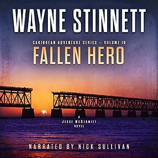 Fallen Hero: A Jesse McDermitt Novel audiobook cover art