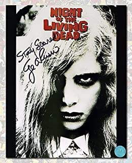 george romero autographed poster
