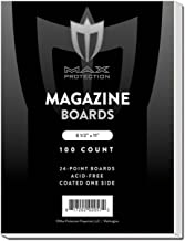 200 MAGAZINE Size White Comic Backing Boards by Max Pro (8.5