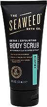 The Seaweed Bath Co. Exfoliating Detox Body Scrub, Awaken Scent (Rosemary & Mint), Natural Organic Seaweed, Vegan, Paraben Free, 6 oz.