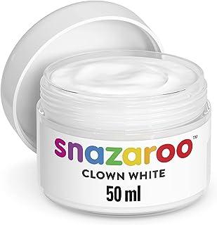 Snazaroo Clown Wei Trucco 50ml, Clown Bianco, Medium