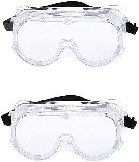 Fellkon® Clear Anti- Fog Lens, Reusable Laboratory Glass For Men's, Women's And Boys.(Pack Of 2)
