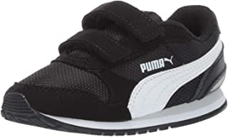 کفش کتانی Puma Unisex-Kids St Runner NL ، Rock Ridge White ، Little Kid