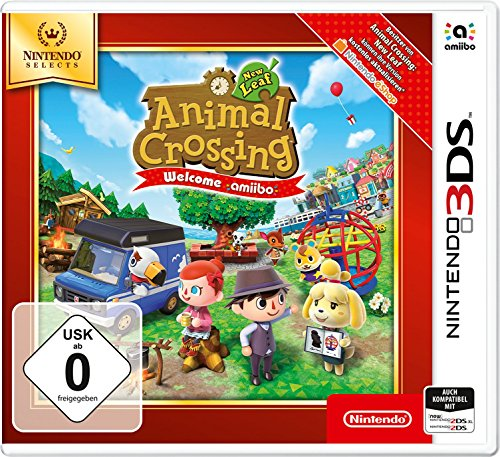 Animal Crossing: New Leaf - Welcome amiibo - Nintendo Selects - Nintendo 3DS [Importación alemana]