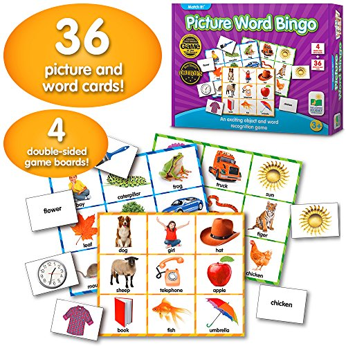 Learning Journey The Match It! Bingo, Picture Word