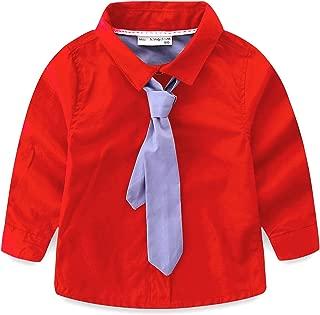 Little Boys Shirt and Tie Set Cute Stars