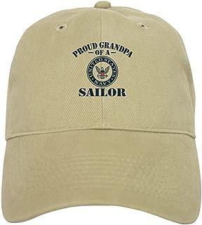 CafePress Proud Grandpa of A US Navy Sailor Baseball Cap