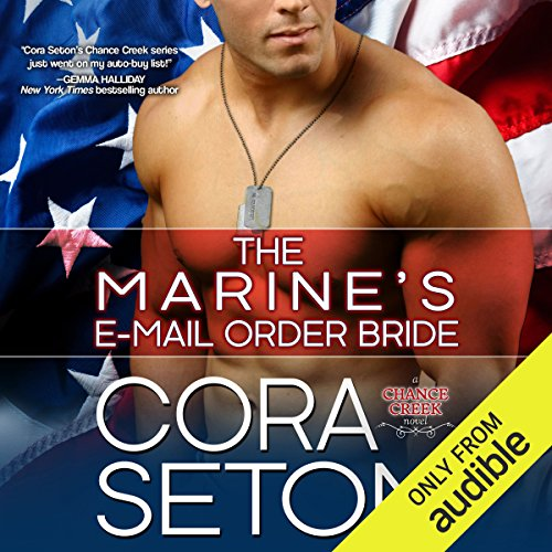 The Marine's E-Mail Order Bride audiobook cover art