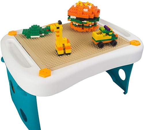 EP-Toy Blocs de Construction de Grande Brique orthographiques pour Enfants, compatibles avec Une variété de Petits Blocs de Particules Pliables