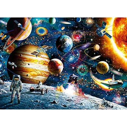 Toreta Puzzles for Adults 500 Piece,Space Jigsaw Puzzles 500 Pieces for Adults,500 Piece Puzzle Art for Family,Pieces Fit Together Perfectly,Large Puzzle Games Toys(14.5x20 inch)