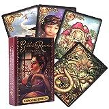 SYJH Juegos de Cartas Tarot, baraja Tarot oraculo, Patrón único y Exquisito, Embalaje de Caja Colorida(Color:oráculo de lenormand)