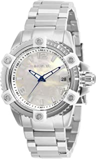 Invicta Women's Pro Diver Quartz Watch with Stainless Steel Strap, Silver, 20 (Model: 27880)